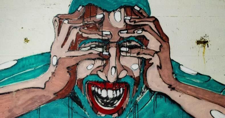 Ilustra homem estressado